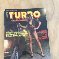 Riviste: TURBO VOL.3 N.8 ELEONORA VALLONE - LAURA LEVY ITALIAN EROTIC MAGAZINE. Lote 230728590
