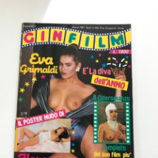 Revistas: GIN FILM N.11 FOTOROMANZO EVA GRIMALDI FLORENCE GUERIN JESSICA MOORE PUBLISHING MAGAZINE. Lote 206547350