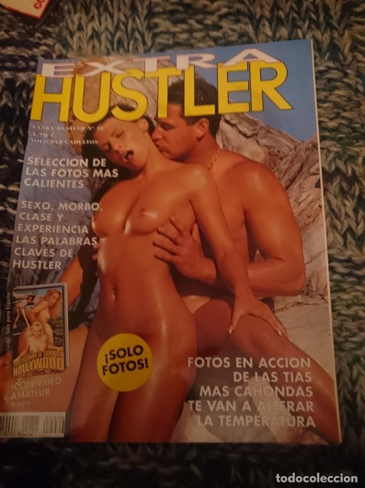EXTRA HUSTLER N 46 - AÑO 2002 (Coleccionismo para Adultos - Revistas)