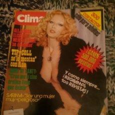 Revistas: CLIMA N 173 -AÑO 1983 - INMA DE SANTIS ENTREVISTA - SARIMA VEDETTE - JOHN MCENROE - TIP Y COLL. Lote 207436691
