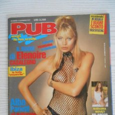 Revistas: PUB N.4/1997-ELENOIRE CASALEGNO,NATASHA HOVEY,LINDA PRESTLER,EVA HENGER. Lote 207494925