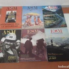 Revistas: REVISTAS MINERAS ASM. Lote 208837326