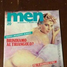 Revistas: MEN VOL.19 N.20 E.P.P. EROTIC MAGAZINE. Lote 209234721