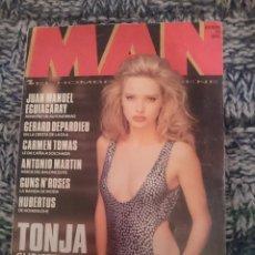Revistas: REVISTA MAN Nº 49 -CON TONJA CHRISTENSEN - NOVIEMBRE DE 1991. Lote 210613906