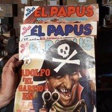 Revistas: LOTE 86 REVISTA HUMOR EL PAPUS. IMPECABLES. Lote 211259912