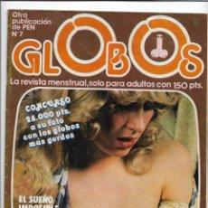 Revistas: REVISTA PARA ADULTOS - GLOBOS Nº7 - LAS TETAS DE ISABEL PANTOJA - 1981. Lote 211265877
