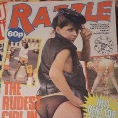 Revistas: GRAN LOTE DE 188 EJEMPLARES REVISTA EROTICA..... RAZZLE.... IMPECABLES.. Lote 211608704