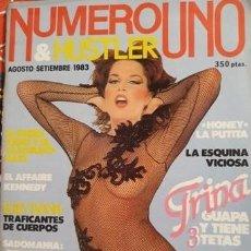 Revistas: LOTE DE 22 EJEMPLARES REVISTA EROTICA.... NUMERO UNO....IMPECABLES. Lote 211669904
