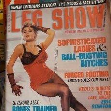 Revistas: LOTE DE 73 EJEMPLARES REVISTA EROTICA ..LEG SHOW. . . NEW YORK...IMPECABLES. Lote 211669996