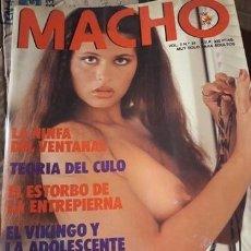 Revistas: GRAN LOTE DE 200 EJEMPLARES REVISTA EROTICA MACHO.INCLUYE MACHO HUMOR Y NEW MACHO. . . IMPECABLES. Lote 211724694