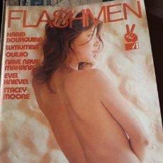 Revistas: LOTE 34 EJEMPLARES REVISTA EROTICA... FLASHMEN... IMPECABLES. Lote 211808072