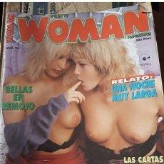 Revistas: LOTE 43 EJEMPLARES REVISTAS EROTICA WOMAN.IMPECABLES.. Lote 211808281