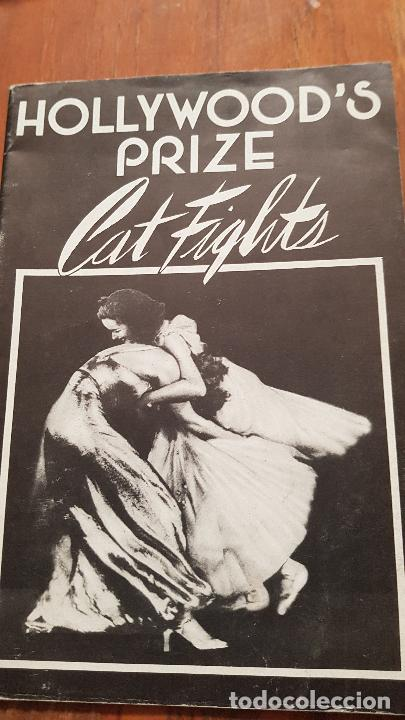 PREMIO DE HOLLYWOD CATFIGHSTS FOLLETO VINTAGE (Coleccionismo para Adultos - Revistas)