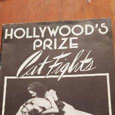 Revistas: PREMIO DE HOLLYWOD CATFIGHSTS FOLLETO VINTAGE. Lote 213713701