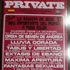Magazines: REVISTA PRIVATE NÚMERO 97. Lote 214050325