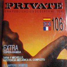 Revistas: REVISTA PRIVATE NÚMERO 106. Lote 232351810