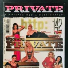 Revistas: REVISTA PRIVATE. Nº 142. AGOSTO 1997. Lote 214286035