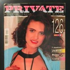 Revistas: REVISTA PRIVATE. Nº 126. DICIEMBRE 1994. Lote 214287267