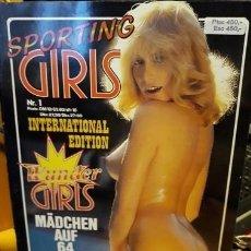 Revistas: SPORTING GIRLS. . Nº 1. Lote 214297637