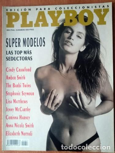 PLAYBOY CINDY CRAWFORD (Coleccionismo para Adultos - Revistas)
