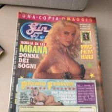 Revistas: GIN FIZZ N.314 MOANA POZZI PUBLISHING MAGAZINE SEALED EROTIC MAGAZINE + EXTRA MAGAZINE 26/09/1991. Lote 214346313
