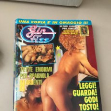 Revistas: GIN FIZZ N.326 PUBLISHING MAGAZINE EROTIC MAGAZINE 19/12/1991. Lote 214347091