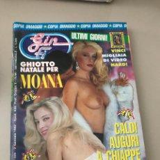 Revistas: GIN FIZZ N.327/328 MOANA POZZI PUBLISHING MAGAZINE EROTIC MAGAZINE 02/01/1992. Lote 214347150
