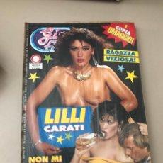 Revistas: GIN FIZZ N.330 LILLI CARATI PUBLISHING MAGAZINE SEALED EROTIC MAGAZINE 16/01/1992. Lote 214347252