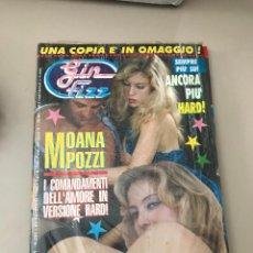 Revistas: GIN FIZZ N.331 MOANA POZZI PUBLISHING MAGAZINE SEALED EROTIC MAGAZINE 23/01/1992. Lote 214347462