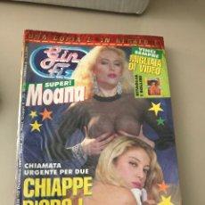 Revistas: GIN FIZZ N.325 MOANA POZZI PUBLISHING MAGAZINE SEALED EROTIC MAGAZINE 12/12/1991. Lote 214347525