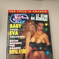 Revistas: GIN FIZZ N.336 BABY POZZI EVA ORLOWSKY PUBLISHING MAGAZINE EROTIC MAGAZINE 27/02/1992. Lote 214347727