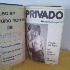 Revistas: REVISTA LIB - SUPLEMETO ESPECIAL PRIVADO AÑO 1974/75 (2 TOMOS). Lote 214435221