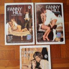 Revistas: FANNY HILL ( EN 3 VOLUMENES ) EDICION ILUSTRADA CON FOTOS EROTICAS Y PORNOGRAFICAS. Lote 214473602
