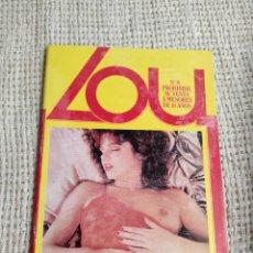 Revistas: LOU Nº 6 REVISTA PARA ADULTOS DE LOS AÑOS 90. Lote 263128225