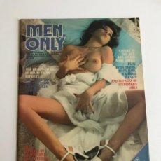 Riviste: MEN ONLY VOL.42 NO.4 A PAUL RAYMOND PUBLICATIONS EROTIC MAGAZINE. Lote 214908520