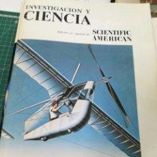 Revistas: INVESTIGACIÓN Y CIENCIA (REVISTA). AERONAVES DE PROPULSIÓN HUMANA. Lote 217208428