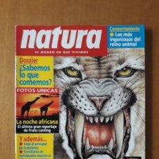 Revistas: REVISTA NATURA 126. SEPTIEMBRE 1993. Lote 217217230