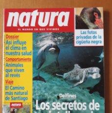 Revistas: NATURA N° 124. JULIO 1993. LAS FOTOS PRIVADAS DE LA CIGUEÑA NEGRA. Lote 217231828