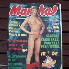 Revistas: MARCHA / CARMEN CERVERA, FEDRA LORENTE, LORETA TOVAR, CICCIOLINA, JULIO IGLESIAS, MANOLO OTERO. Lote 219393078