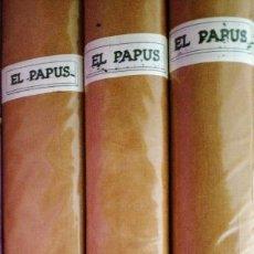 Revistas: 3 TOMOS DEL PAPUS 93 REVISTA AÑOS 70 CON SUS CUBIERTAS. Lote 219727040