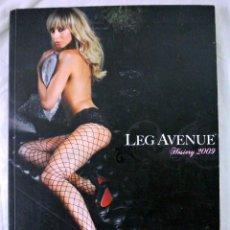 Revistas: LIBRO LEG AVENUE, CATALOGO DE MEDIAS Y PANTIMEDIAS, 2009. Lote 220386796