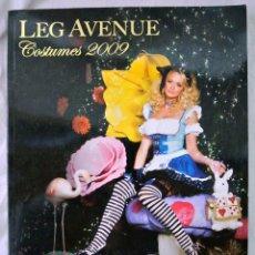 Revistas: LIBRO LEG AVENUE, CATALOGO DE SEXYS DISFRACES PARA ADULTO, 2009, USO MINIMO *. Lote 220404012