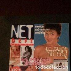 Revistas: NET DEFI INTERNET Nº 1-PAMELA ANDERSON-MARILYN MONROE-JUDIT MASCÓ. Lote 220466422