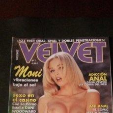 Magazines: VELVET Nº 7-REVISTA PORNO. Lote 221484200