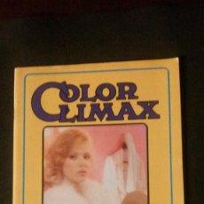 Magazines: COLOR CLIMAX-REVISTA PORNO-MENSILE Nº 3-MARZO 1986-RIGOROSAMENTE VIETATO AI MINORI. Lote 221485357