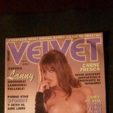 Revistas: VELVET Nº 5-BRIANNA BANKS-LANNY BARBIE-STORMY DANIELS-SUSHI. Lote 221851738