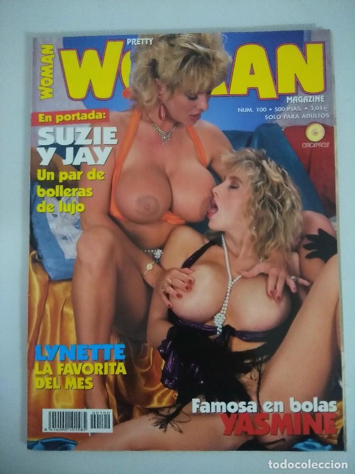 REVISTA EROTICA/PRETTY WOMAN Nº 100. (Coleccionismo para Adultos - Revistas)