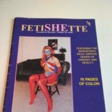 Revistas: FETISHETTE NR 10. Lote 224033923