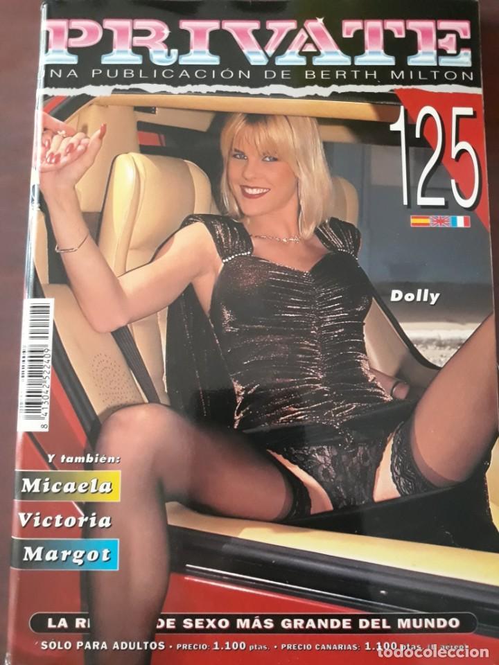 REVISTA PRIVATE NÚMERO 125 (Coleccionismo para Adultos - Revistas)