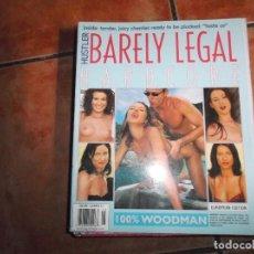Revistas: HUSTLER BARELY LEGAL XXX Nº 15, REVISTA EROTICA SOLO PARA ADULTOS,. Lote 263068425